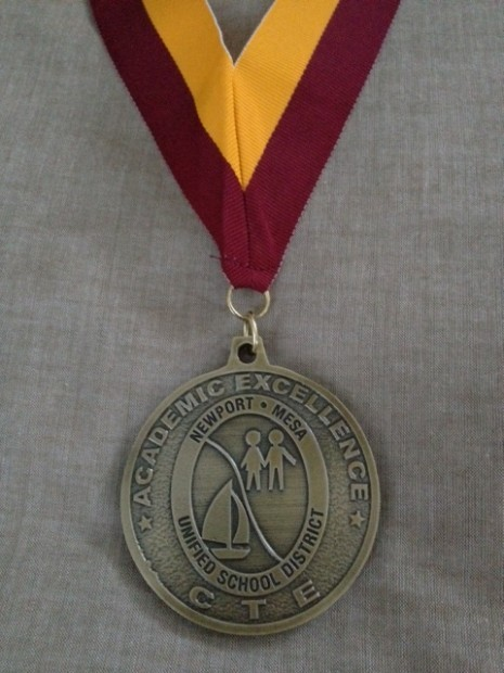 Image of N-MUSD CTE Medallion