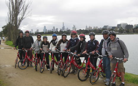 Bike Tour of Melbourne