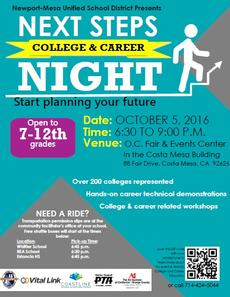 N-MUSD College & Career Night